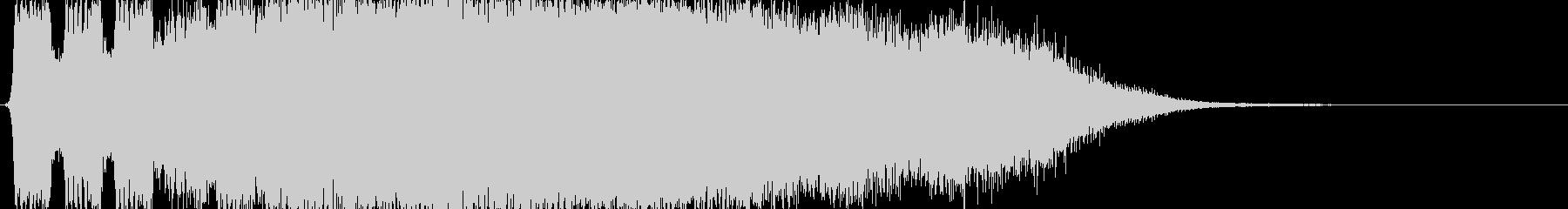 マルチウィープバージョン1の未再生の波形