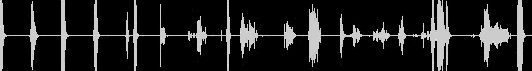 ハードサーフェス、ショート、8テイ...の未再生の波形