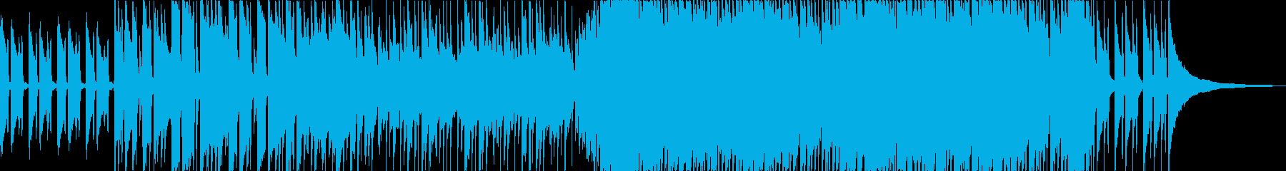 爽やかUK感のあるアコースティックポップの再生済みの波形