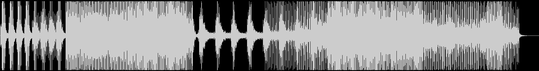 切なくピアノが響くプログレッシブハウスの未再生の波形