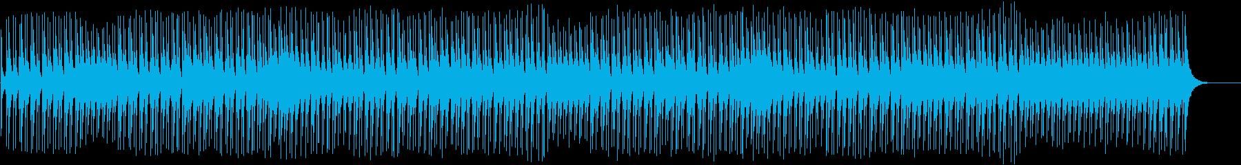 沖縄のエイサー、お祭り風の三線と太鼓の曲の再生済みの波形