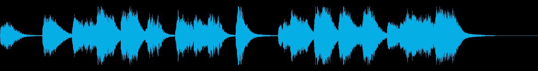 幻想的なCM、イベント、企業動画向けの再生済みの波形