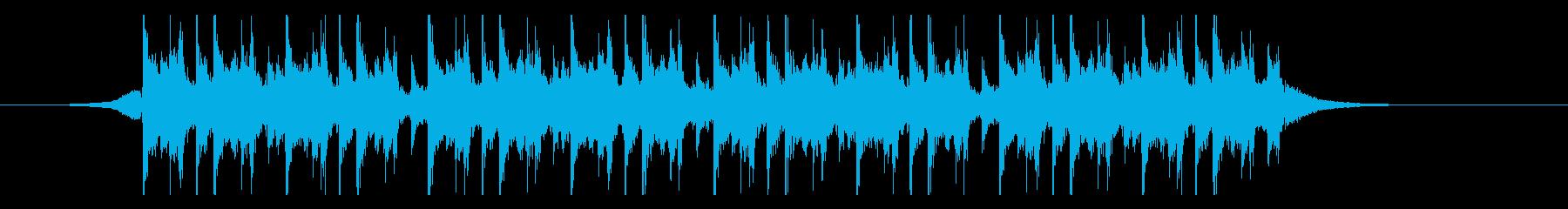 ラマダン(26秒)の再生済みの波形