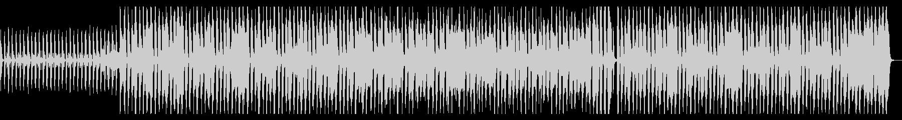 ウキウキ、手拍子、ギター、ピアノの未再生の波形