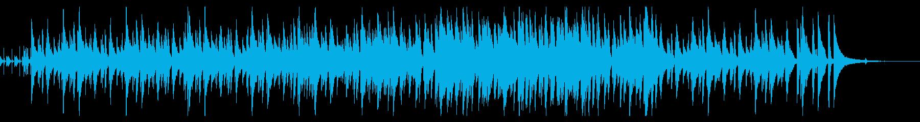 ジャズ/探偵・推理・調査シーンのBGMの再生済みの波形