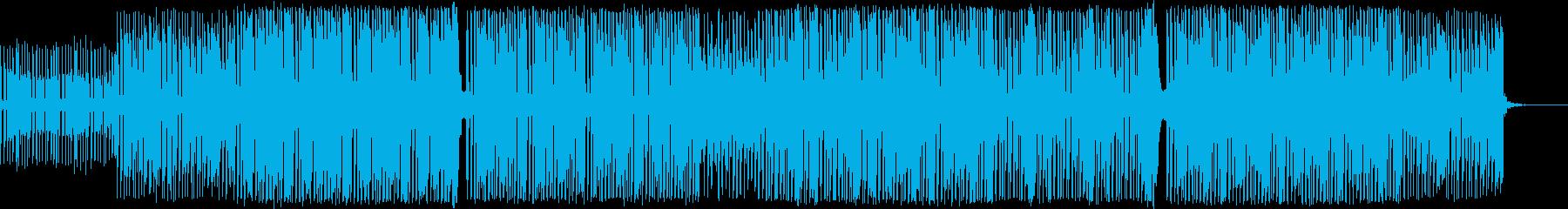 コミカルで明るいポップなBGMの再生済みの波形