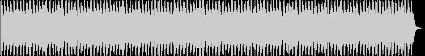 軽快でわくわくするエレクトロニカの未再生の波形