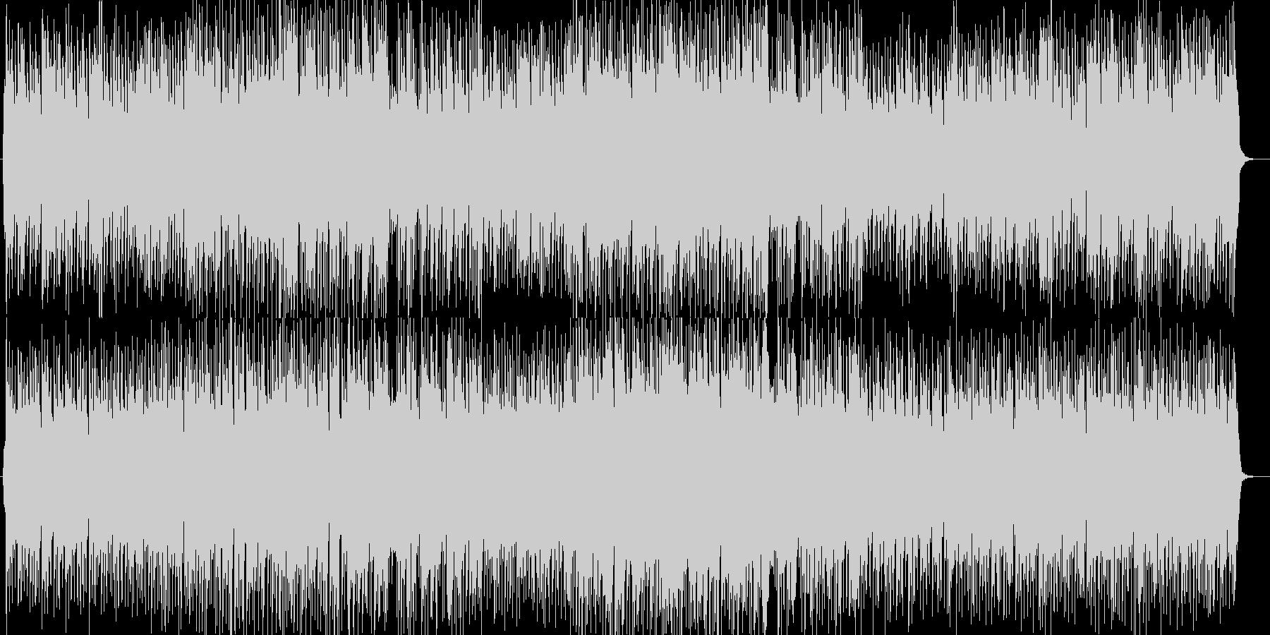 軽やかで軽快なバイオリンとピアノポップスの未再生の波形