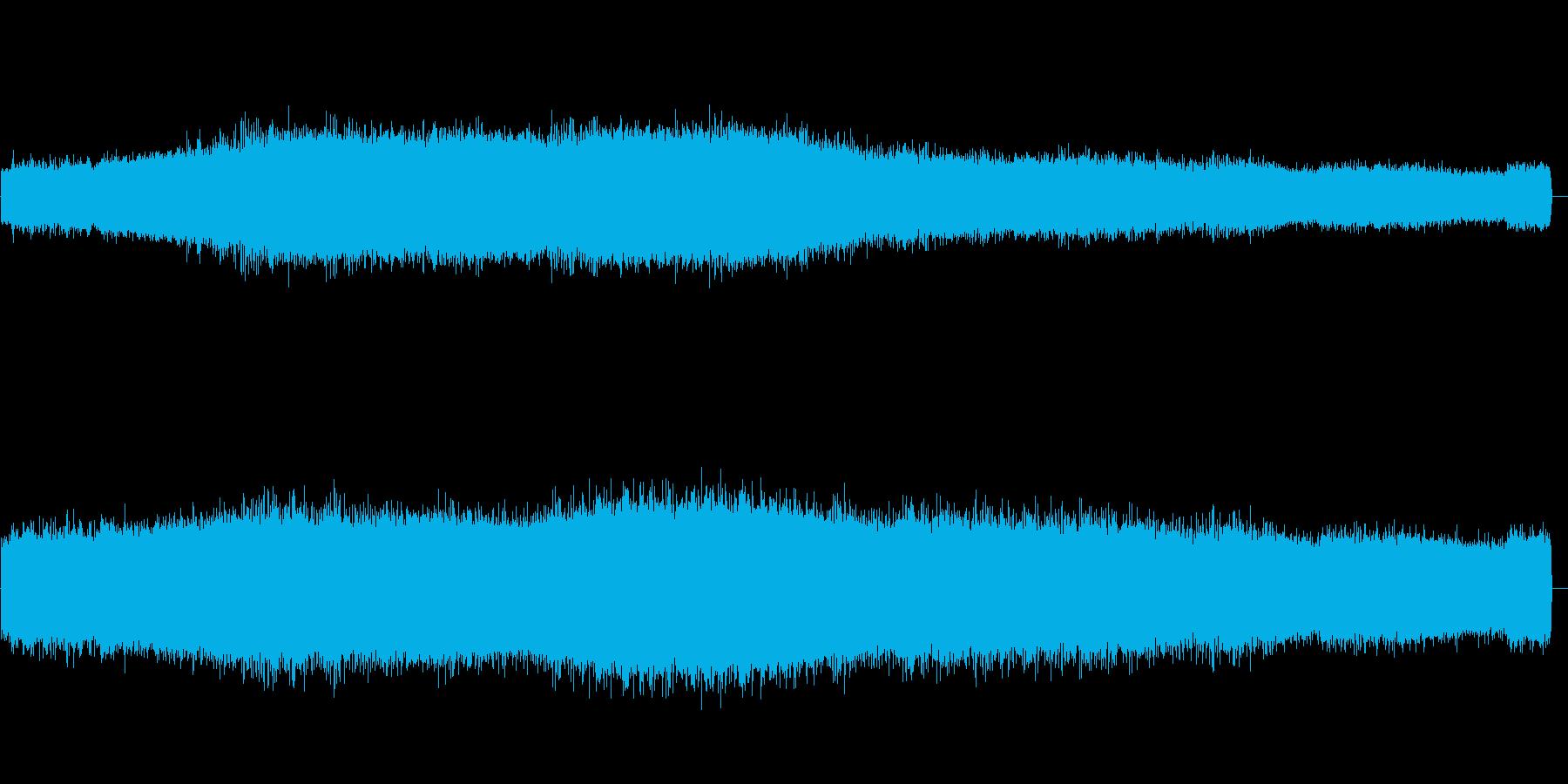 セミの鳴き声 05の再生済みの波形