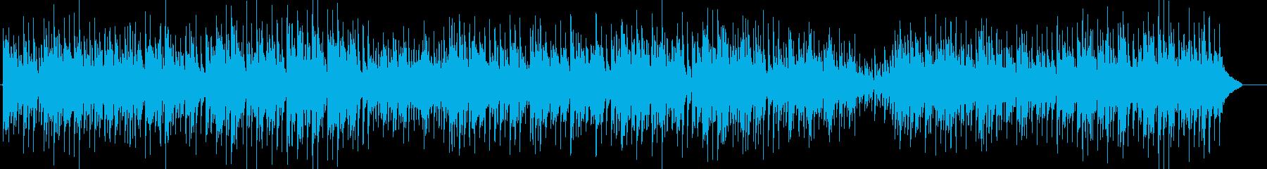 かわいいカントリー 草競馬 アコギの再生済みの波形