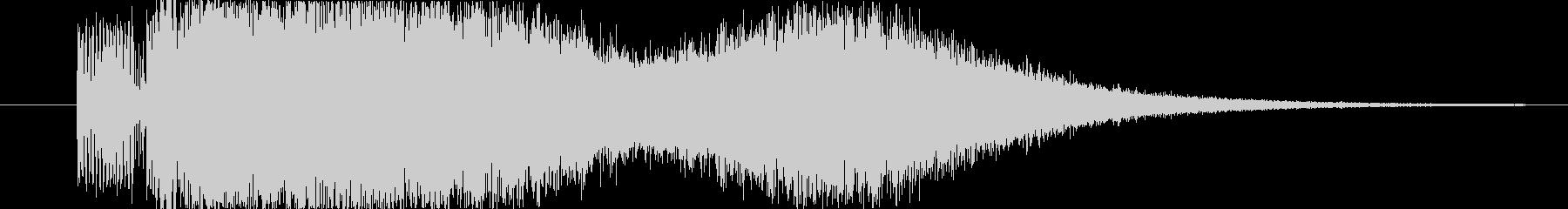 ブーストスイープバージョン6の未再生の波形