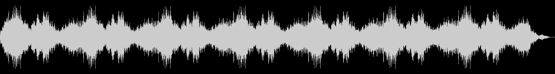 【ダークアンビエント】 嫌な予感の未再生の波形