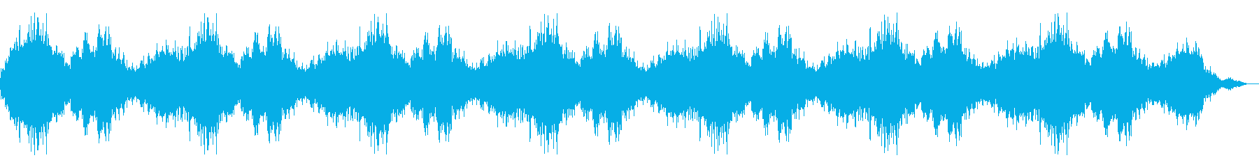 【ダークアンビエント】 嫌な予感の再生済みの波形