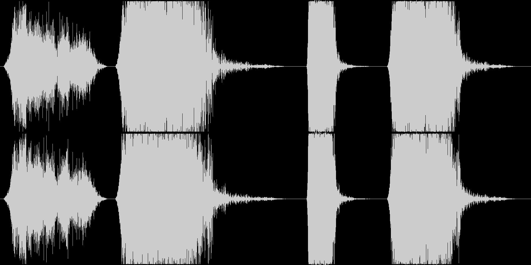 ラウドメタルブリッジストレスローラ...の未再生の波形