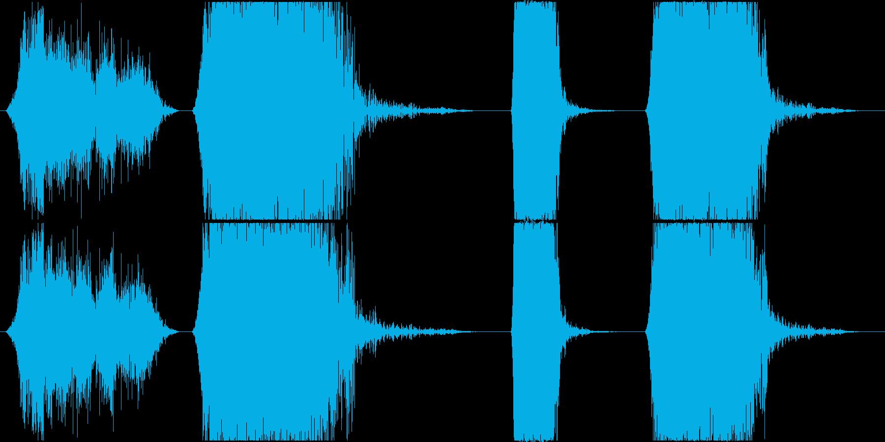 ラウドメタルブリッジストレスローラ...の再生済みの波形