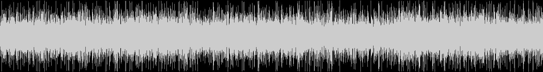 ザァー(AMラジオのノイズC)ループ処理の未再生の波形