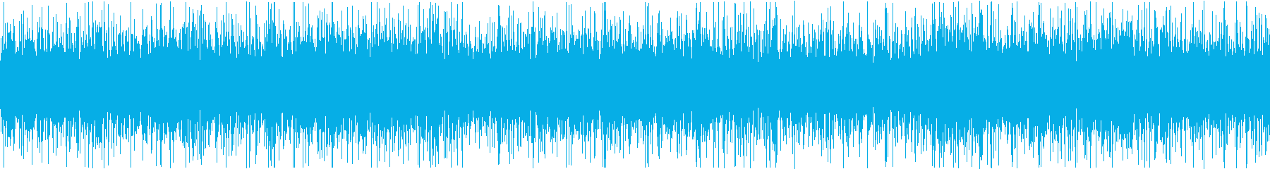 ザァー(AMラジオのノイズC)ループ処理の再生済みの波形