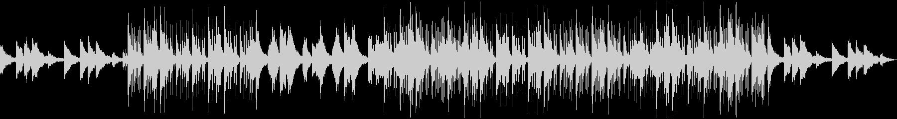 幻想的なBGM・ヒップホップビートの未再生の波形