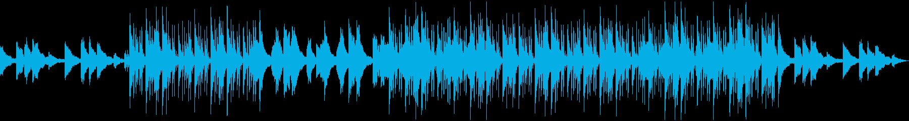 幻想的なBGM・ヒップホップビートの再生済みの波形