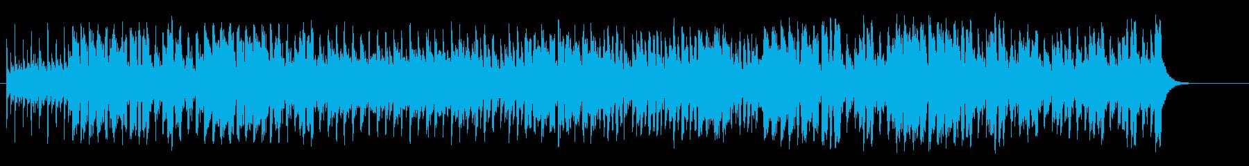 エスニックで和風なワールドポップスの再生済みの波形