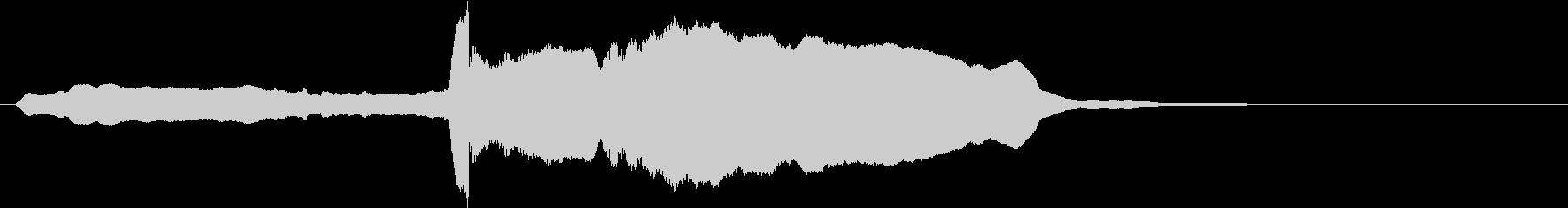 音侍SE「尺八フレーズ1」エニグマ音06の未再生の波形