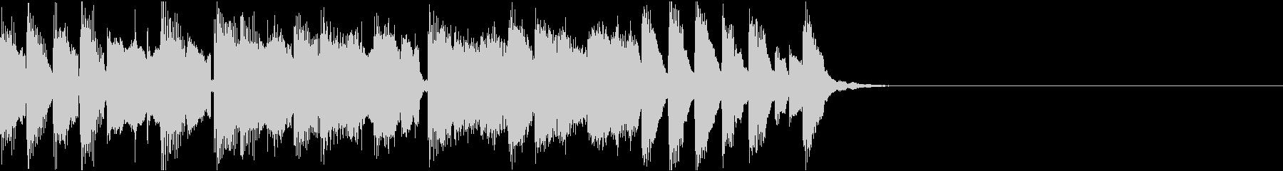 かわいいコミカル/サウンドロゴの未再生の波形