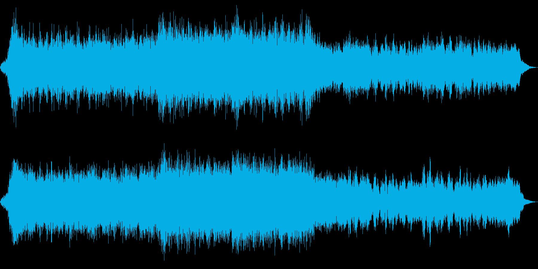 eスポーツハリウッド風オーケストラの再生済みの波形