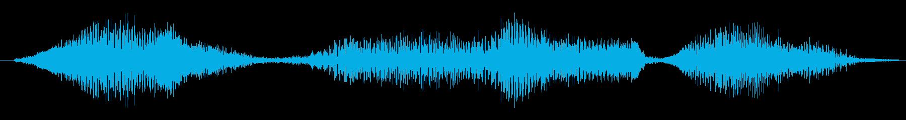 ゾンビ ヒューマンチェンジ07の再生済みの波形