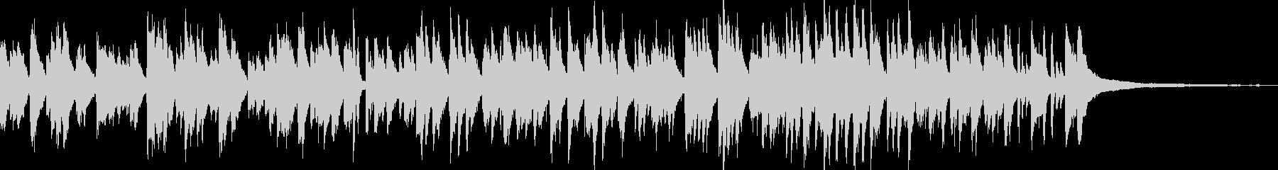 カフェラウンジ風ボサノバ/ピアノトリオの未再生の波形