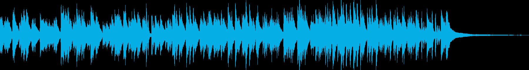 カフェラウンジ風ボサノバ/ピアノトリオの再生済みの波形