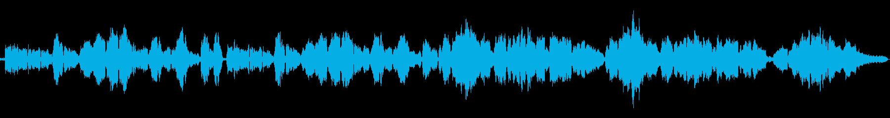 ラフマニノフ作曲の有名なクラシックの再生済みの波形