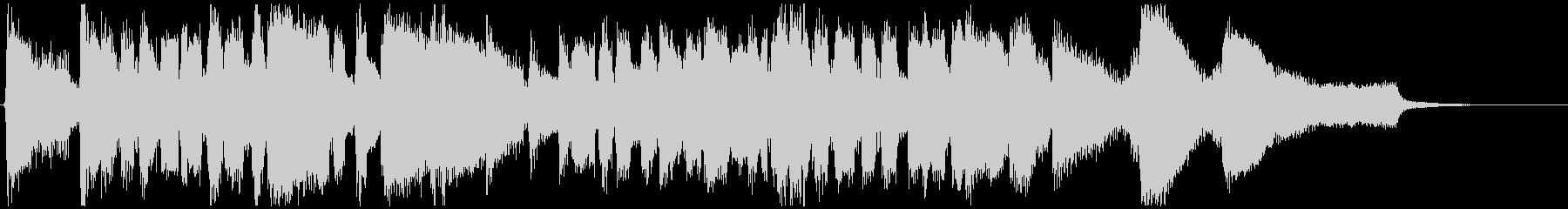 スタンダード系のジャズ◆CM向け15秒曲の未再生の波形