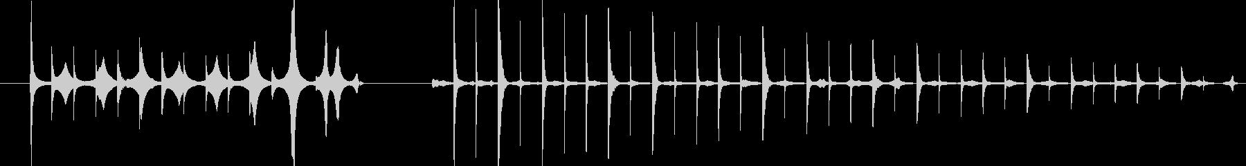打撃 Whimper Blob 01の未再生の波形