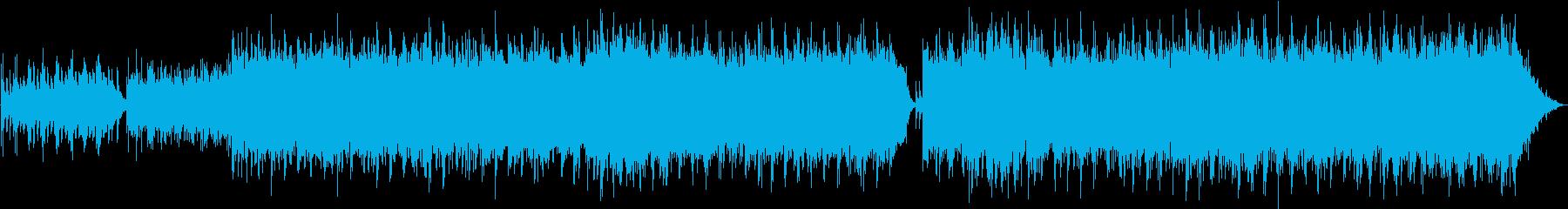ゆったり流れる川面を眺めてピアノメロディの再生済みの波形