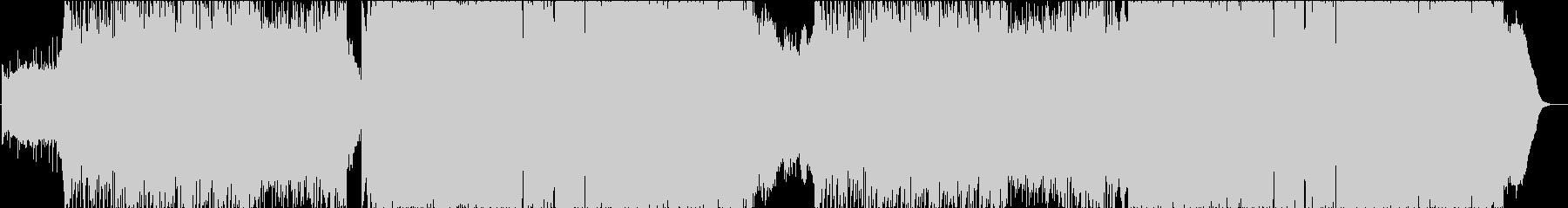 爽快ピアノロックインストの未再生の波形