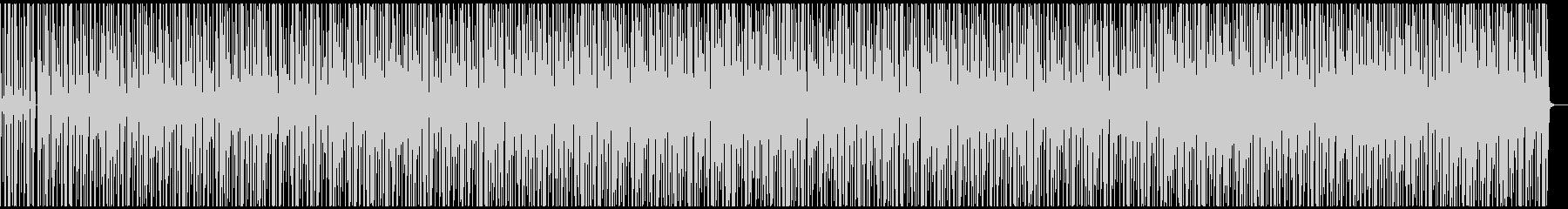 謎解きのBGMの未再生の波形