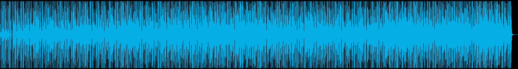 謎解きのBGMの再生済みの波形
