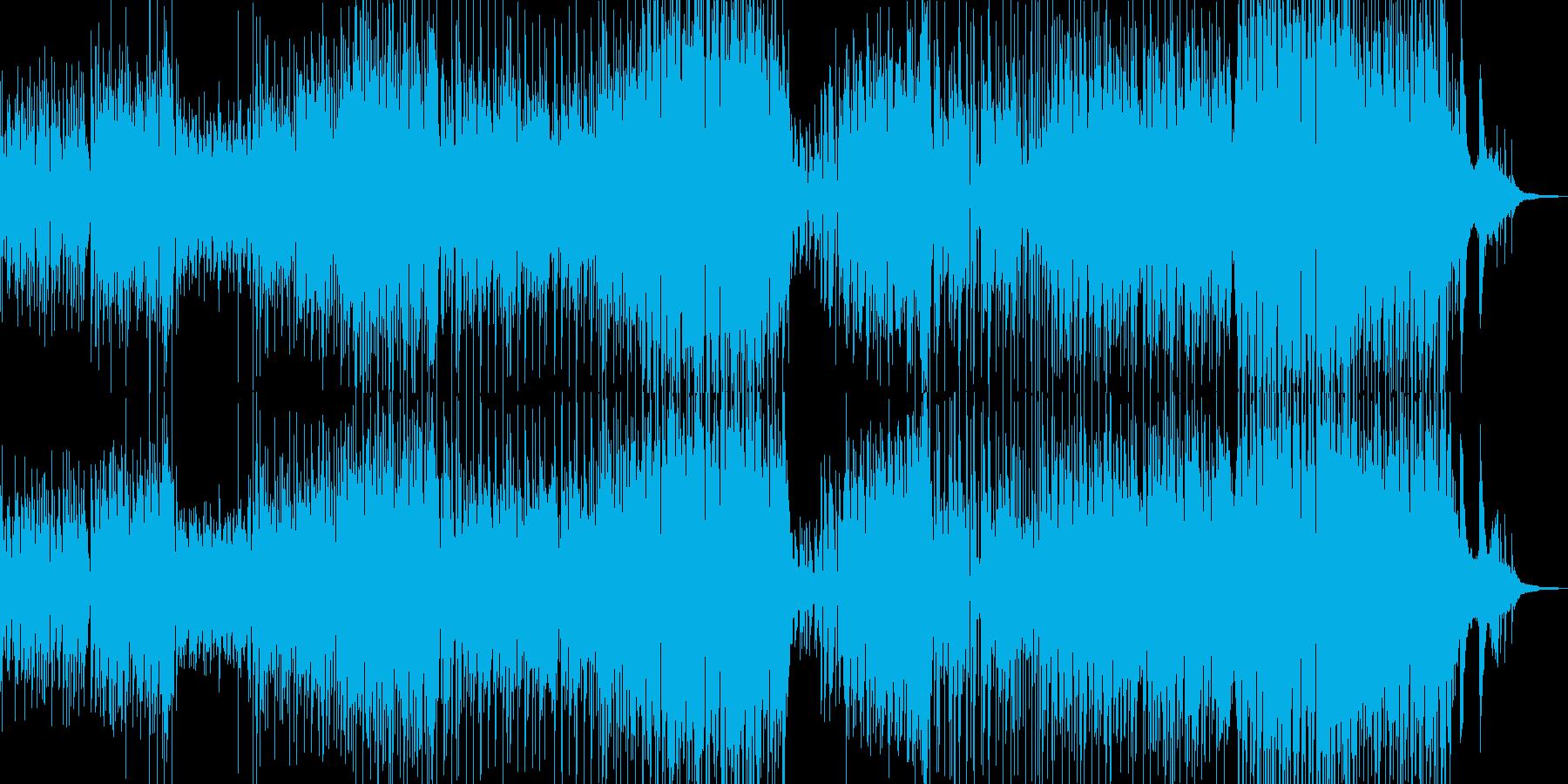 手風琴とギター・軽快で可憐なジャズ Bの再生済みの波形