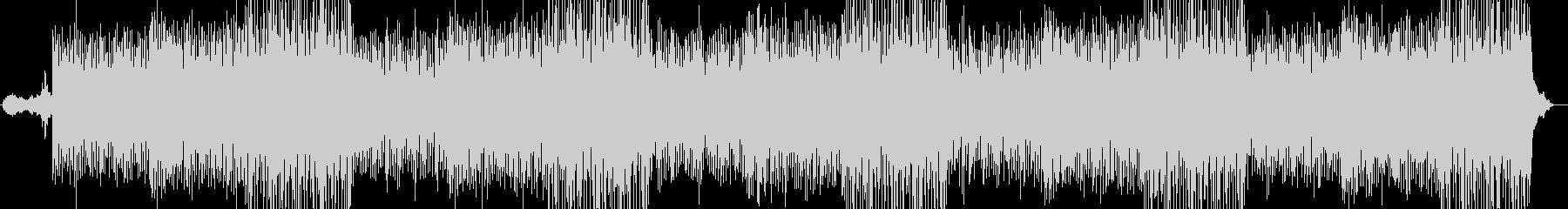 ピアノのリフが心地よく優しいBGMの未再生の波形