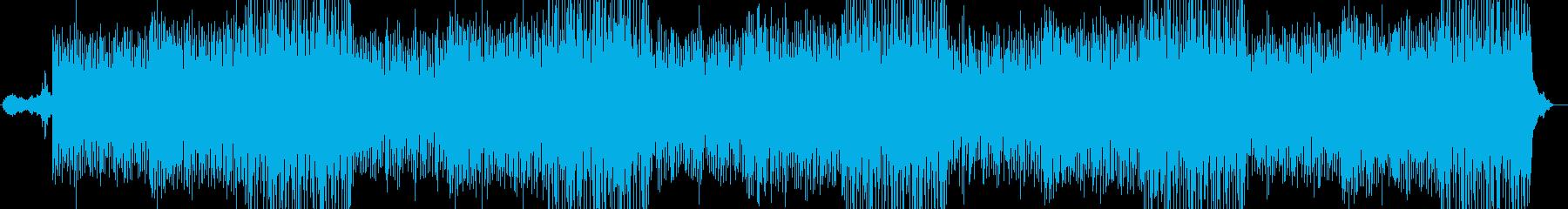 ピアノのリフが心地よく優しいBGMの再生済みの波形