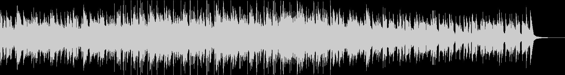 60秒 ピアノが印象的なドラムンベースの未再生の波形