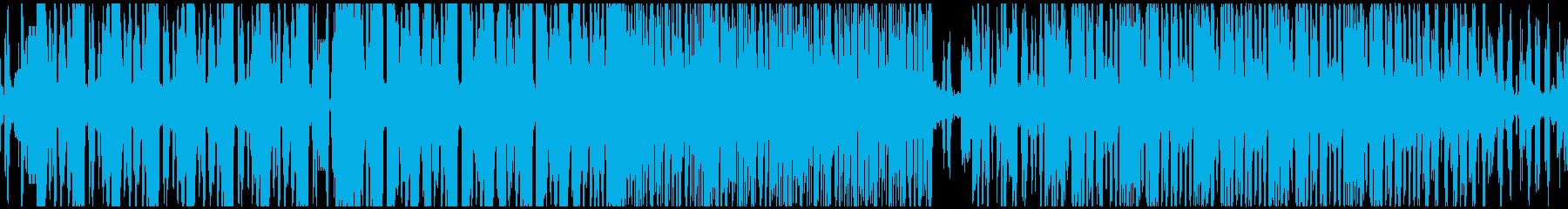 VP、アート、プロジェクションマッピングの再生済みの波形