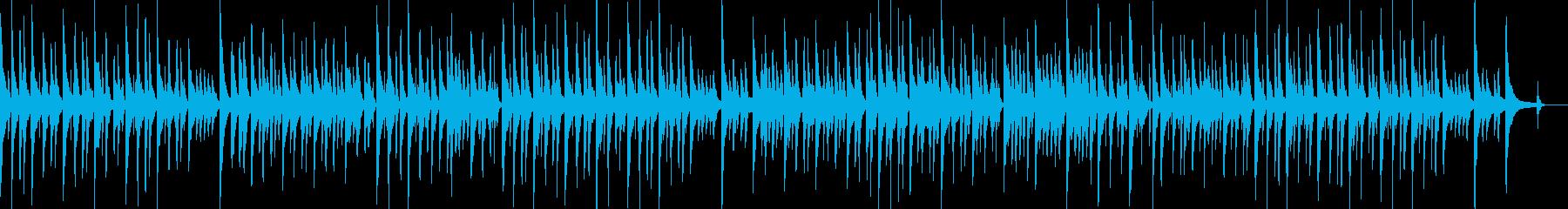 【ペット・料理・ゲーム】ほのぼのマリンバの再生済みの波形