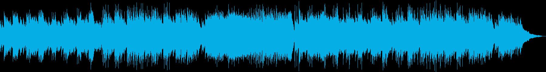 セクシーなタンゴ風ピアノソロの再生済みの波形
