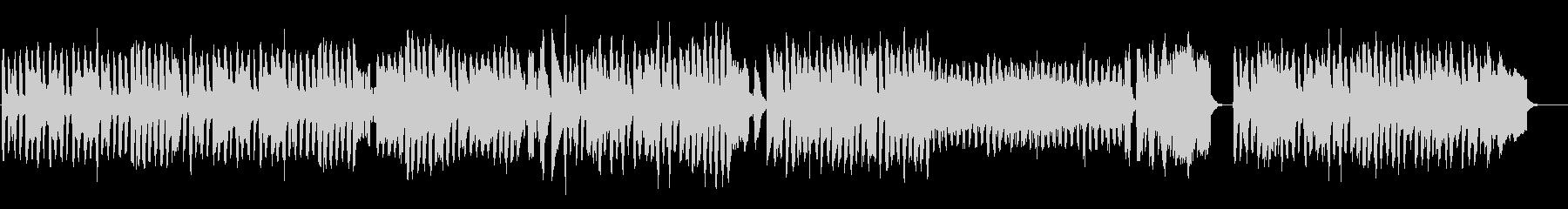 牧歌的なアコーディオンとピアノの舞曲の未再生の波形