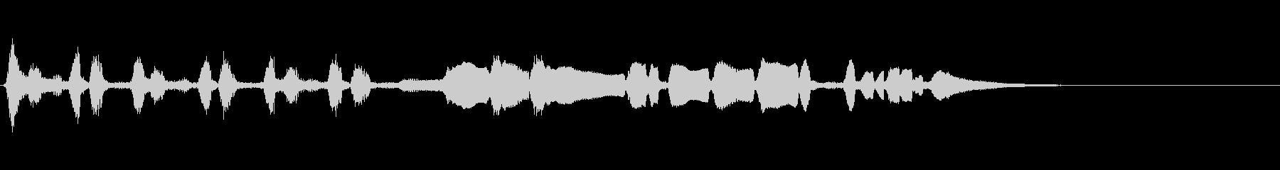 【生演奏】アコーディオンジングル44の未再生の波形