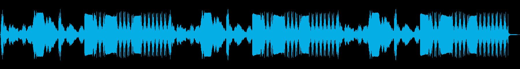 パトカー:内線:さまざまなサイレン...の再生済みの波形