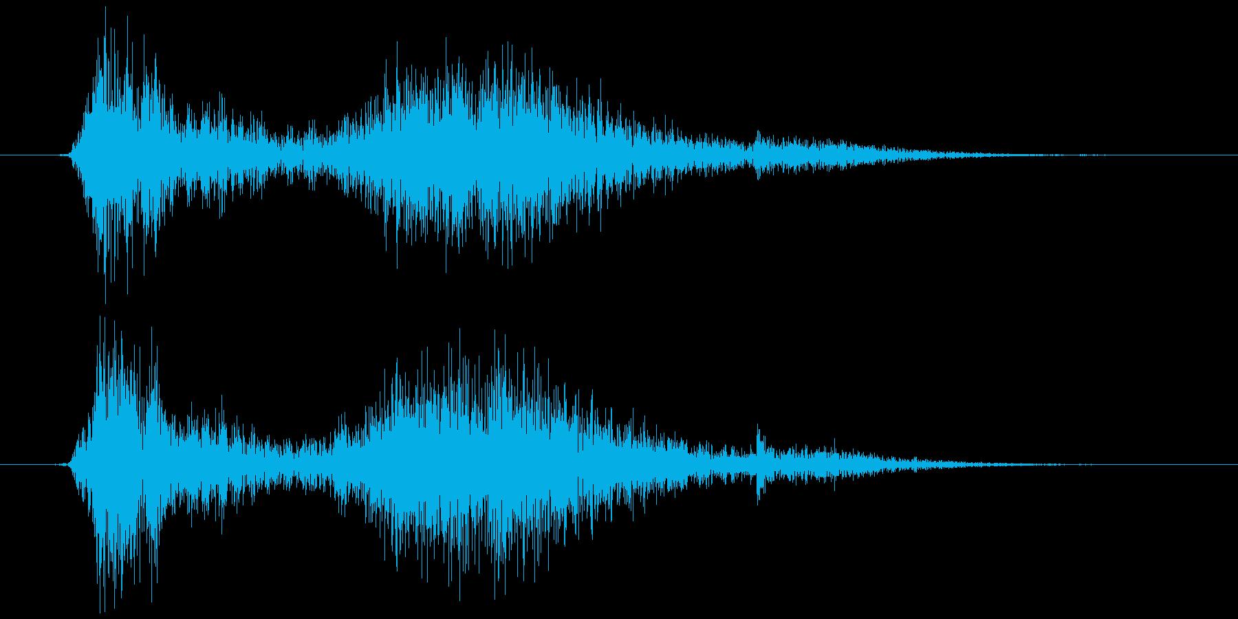 テレビ/ブラウン管 カシュッ+チリッの再生済みの波形