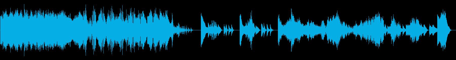 疾走感と力強いクラシックピアノの再生済みの波形