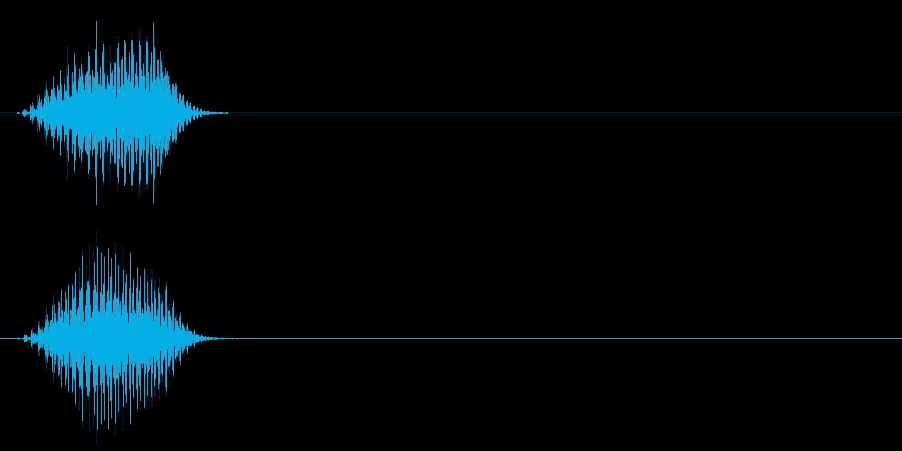 エイリアン 発声 66の再生済みの波形